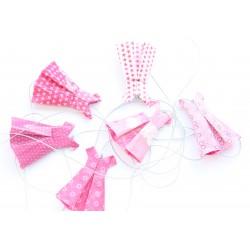 Guirlande origami robe